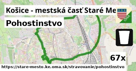 pohostinstvo v Košice - mestská časť Staré Mesto