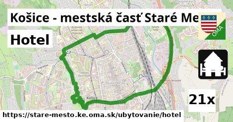 hotel v Košice - mestská časť Staré Mesto