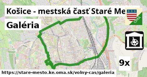 galéria v Košice - mestská časť Staré Mesto