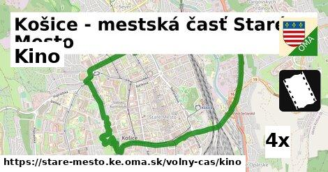 kino v Košice - mestská časť Staré Mesto