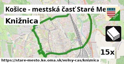 knižnica v Košice - mestská časť Staré Mesto