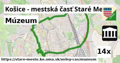 múzeum v Košice - mestská časť Staré Mesto