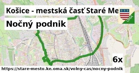 nočný podnik v Košice - mestská časť Staré Mesto