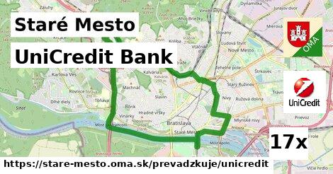 UniCredit Bank v Staré Mesto