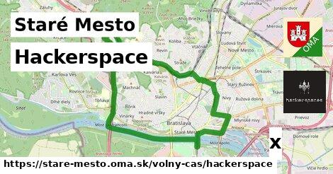 hackerspace v Staré Mesto