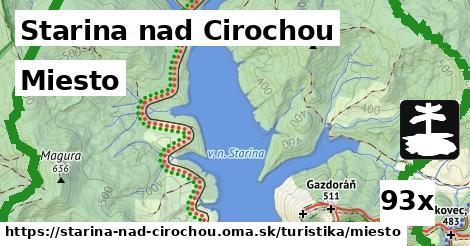 miesto v Starina nad Cirochou