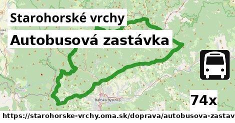 ilustračný obrázok k Autobusová zastávka, Starohorské vrchy