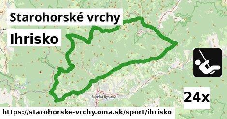 ilustračný obrázok k Ihrisko, Starohorské vrchy