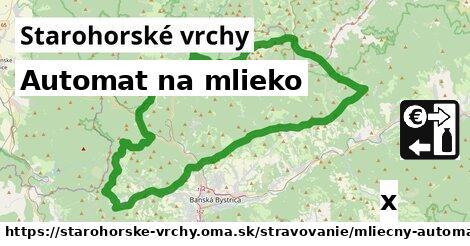 ilustračný obrázok k Automat na mlieko, Starohorské vrchy
