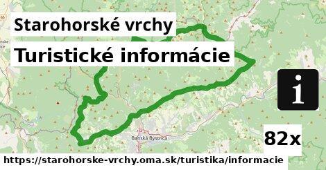ilustračný obrázok k Turistické informácie, Starohorské vrchy