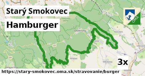 hamburger v Starý Smokovec