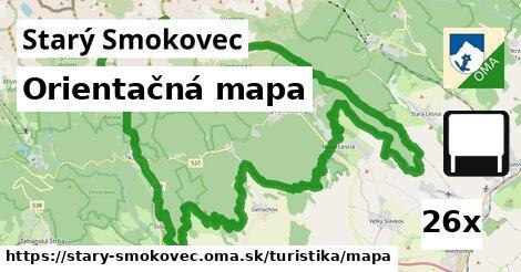 orientačná mapa v Starý Smokovec