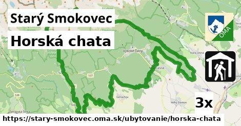 horská chata v Starý Smokovec