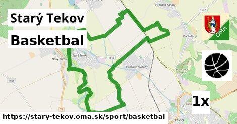 basketbal v Starý Tekov
