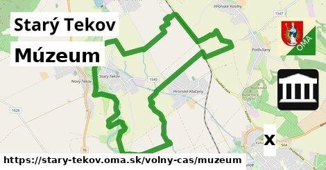 múzeum v Starý Tekov
