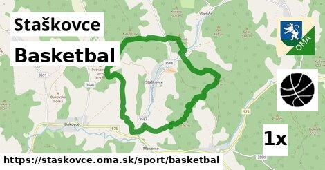 ilustračný obrázok k Basketbal, Staškovce