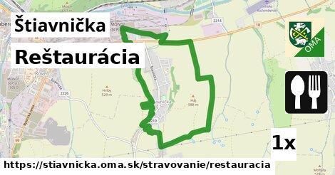 ilustračný obrázok k Reštaurácia, Štiavnička