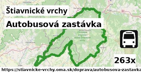 ilustračný obrázok k Autobusová zastávka, Štiavnické vrchy