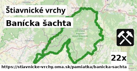 ilustračný obrázok k Banícka šachta, Štiavnické vrchy
