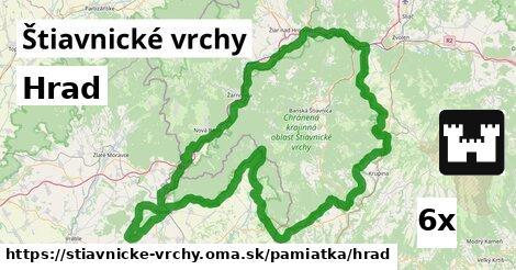 ilustračný obrázok k Hrad, Štiavnické vrchy