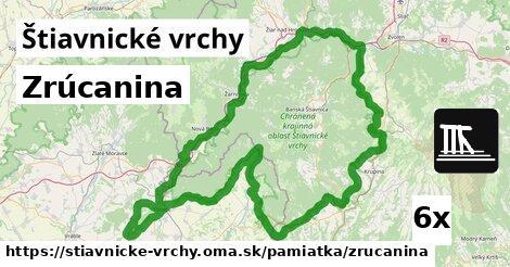 ilustračný obrázok k Zrúcanina, Štiavnické vrchy