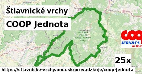 ilustračný obrázok k COOP Jednota, Štiavnické vrchy