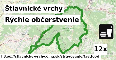 ilustračný obrázok k Rýchle občerstvenie, Štiavnické vrchy