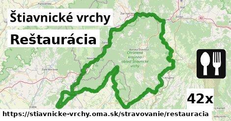 ilustračný obrázok k Reštaurácia, Štiavnické vrchy