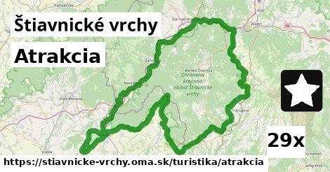 ilustračný obrázok k Atrakcia, Štiavnické vrchy