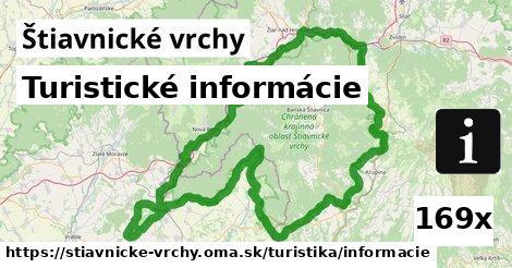 ilustračný obrázok k Turistické informácie, Štiavnické vrchy