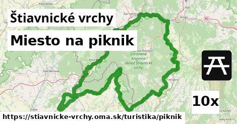 ilustračný obrázok k Miesto na piknik, Štiavnické vrchy