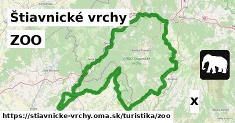 ilustračný obrázok k ZOO, Štiavnické vrchy