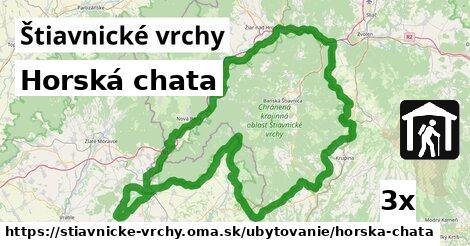 ilustračný obrázok k Horská chata, Štiavnické vrchy