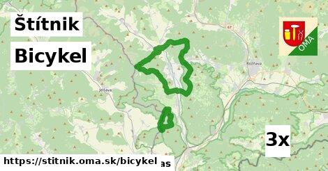 bicykel v Štítnik
