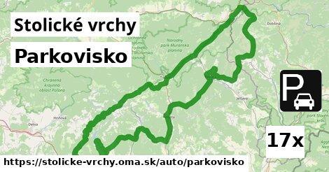 ilustračný obrázok k Parkovisko, Stolické vrchy