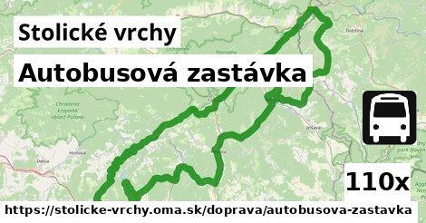 ilustračný obrázok k Autobusová zastávka, Stolické vrchy