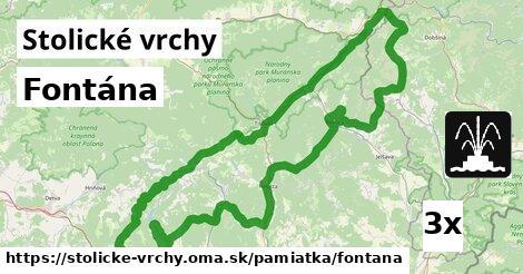 ilustračný obrázok k Fontána, Stolické vrchy