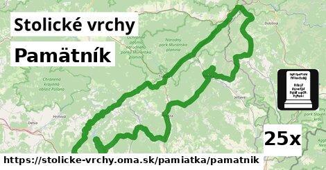 ilustračný obrázok k Pamätník, Stolické vrchy