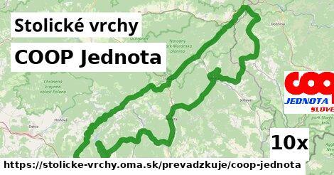 ilustračný obrázok k COOP Jednota, Stolické vrchy