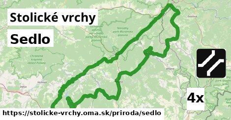 ilustračný obrázok k Sedlo, Stolické vrchy