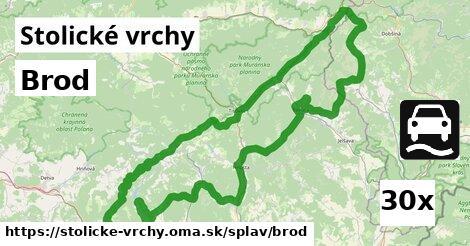 ilustračný obrázok k Brod, Stolické vrchy
