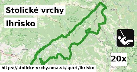 ilustračný obrázok k Ihrisko, Stolické vrchy