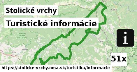 ilustračný obrázok k Turistické informácie, Stolické vrchy