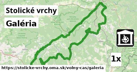 ilustračný obrázok k Galéria, Stolické vrchy