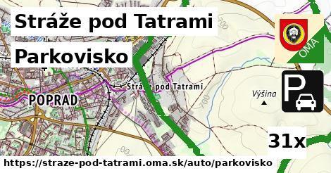 parkovisko v Stráže pod Tatrami
