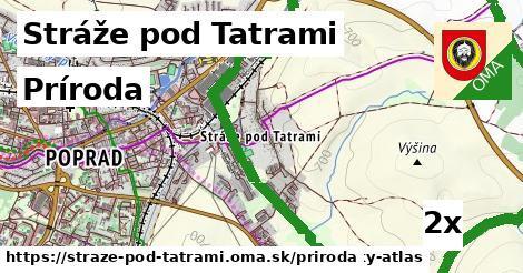príroda v Stráže pod Tatrami