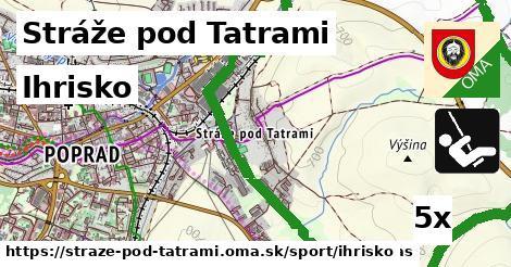 ihrisko v Stráže pod Tatrami