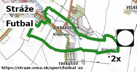 futbal v Stráže