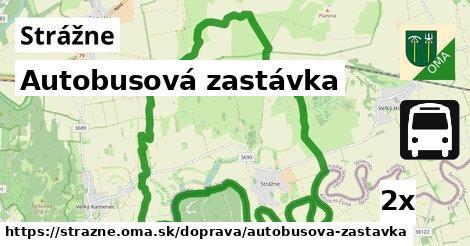 ilustračný obrázok k Autobusová zastávka, Strážne