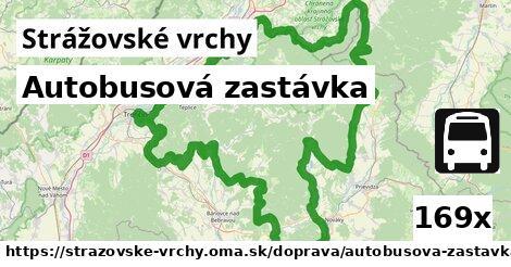 ilustračný obrázok k Autobusová zastávka, Strážovské vrchy